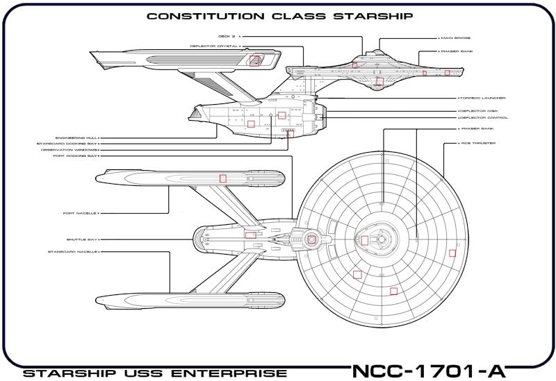 Diagram Of Starship Enterprise Wiring Diagrams