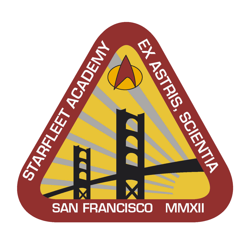my star trek art 6 starfleet academy logo�s startrekblog