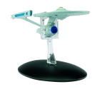 Front view of the model, the deflector dish has a solid dark blue colour to it, more effort could have been made to make the dish look like it should.