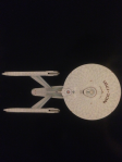 This image is shown on the back cover of the magazine, note the mottled effect of the aztec paint job. Also note the correct black detail of the front of the nacelles.