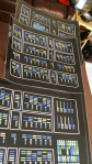 Isolinear chip panel graphic printed