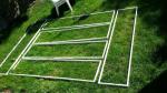 Frames made for the backlit uprights.